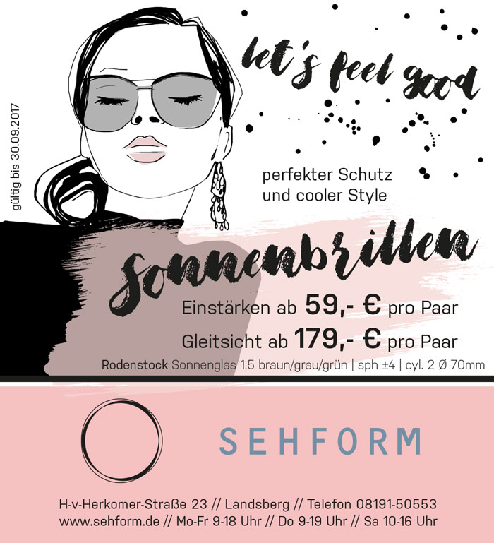 let's feel good - perfekter Schutz und cooler Style